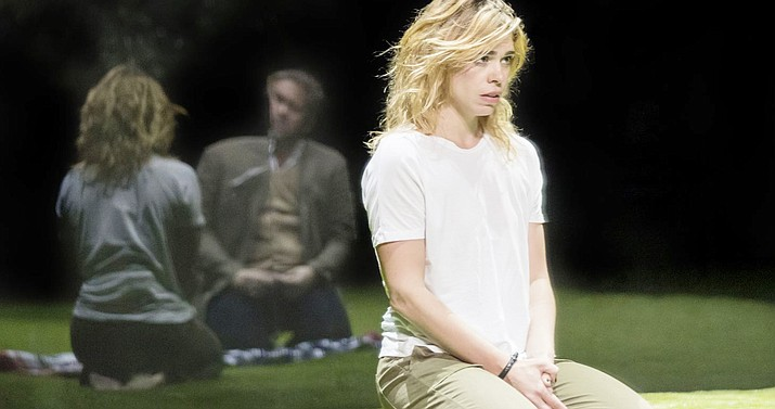 """Billie Piper's Olivier Award-winning performance in """"Yerma"""" is broadcast live to cinemas. A young woman is driven to the unthinkable by her desperate desire to have a baby, in Simon Stone's radical production of Lorca's achingly powerful masterpiece."""