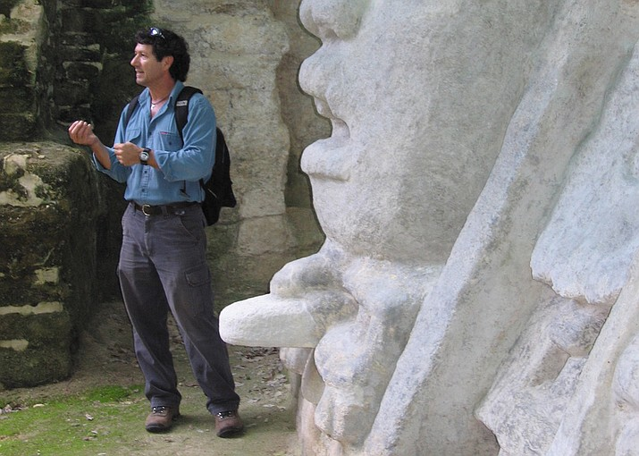 Dr. Jaime J. Awe will be the evening's speaker who will present: Let's Talk of Graves, Eccentrics and Epitaphs: The Socio-Political Implications of Recent Discoveries at Xunantunich, Belize