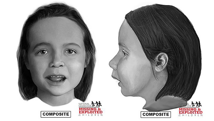 Sketches released of girl found in suitcase in Texas, likely Arizona connection