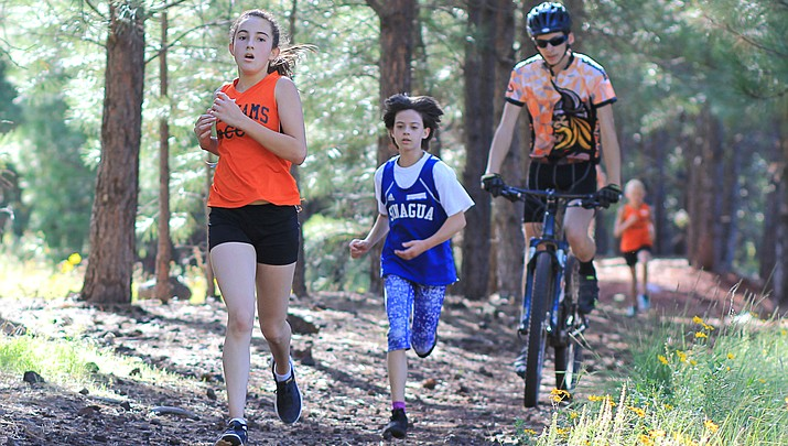 Middle School Falcons shine at cross-country invitational