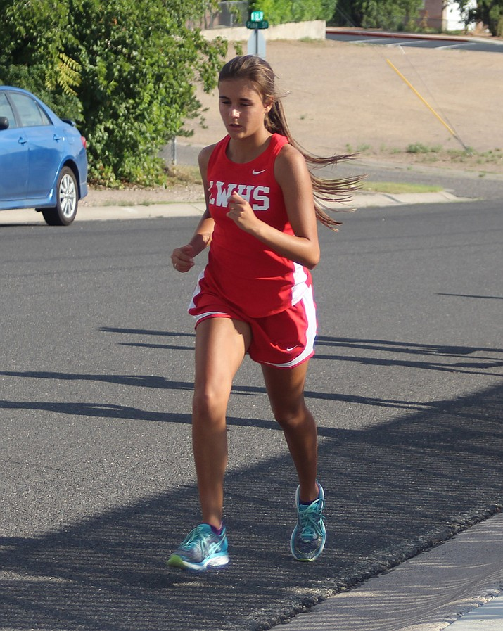 Lee Williams' Meah Wilson placed 10th Saturday at the Four Corners Invite in Flagstaff.