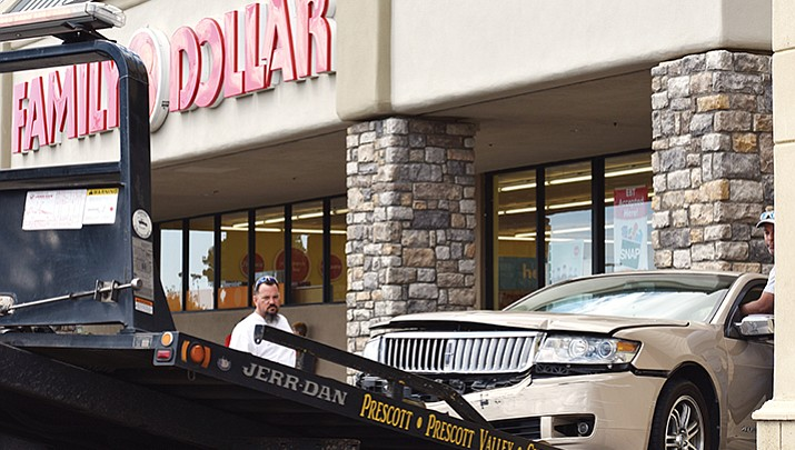 Fully insured, no charges in Dollar store crash