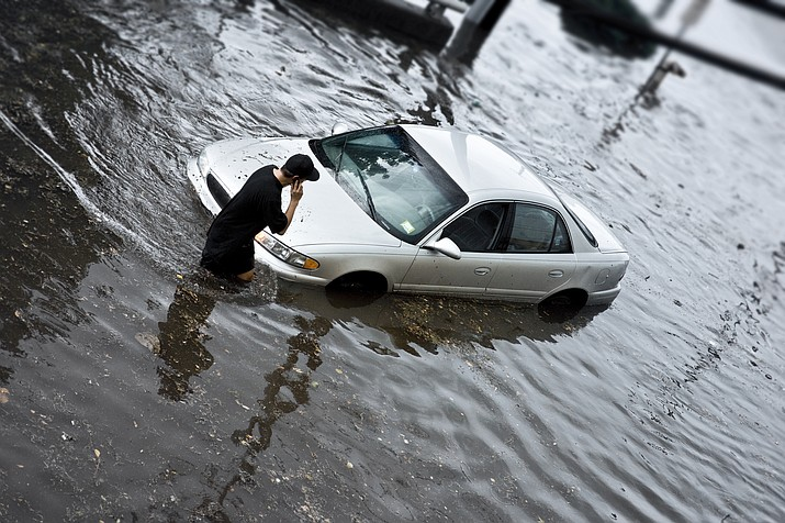 Cars damaged by hurricane flooding may be making their way to Arizona.