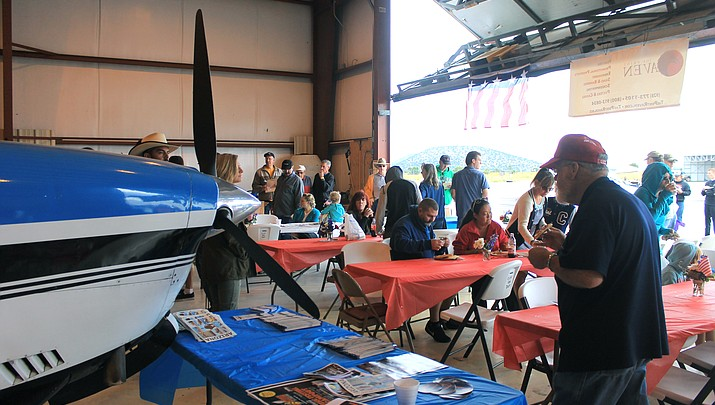 Planes in the Pines Fly-in perseveres in spite of rainy weather