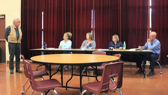 WHS patriotism questioned at governing board meeting