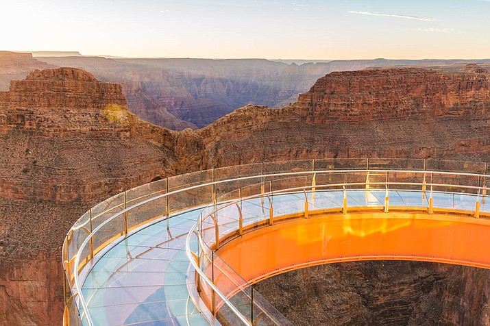 The Diamond Creek Pipeline could supply water to all of the attractions at Grand Canyon West, including the Skywalk.