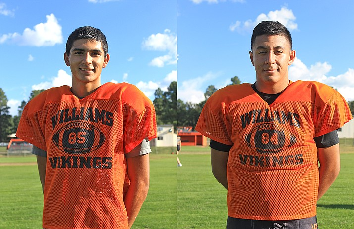 Zack Perkins and Juaquin Gutierrez head into their final year at Williams High School.
