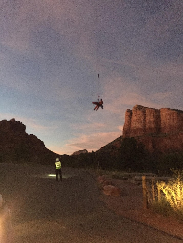 Photo Courtesy of Assistant Fire Chief Jeff Piechura of Sedona Fire District)