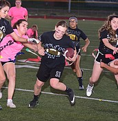 Bradshaw Mountain powder puff game comes down to last play photo