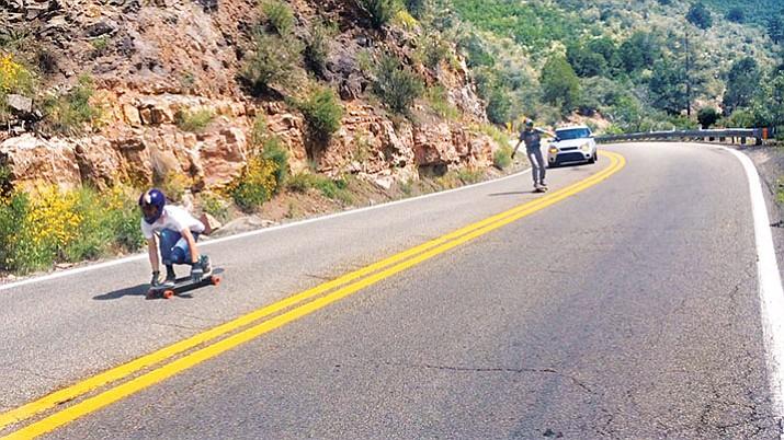 Skateboarding on highways legal, but 'definitely not safe'