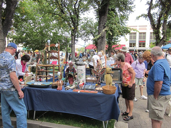 Antiques on the Square will be from 9 a.m. to 4 p.m. on Sunday, Sept. 24, at courthouse plaza. (Courtesy)