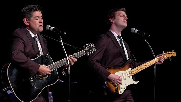 """Bye Bye, Love,"" a tribute to the Everly Brothers, takes the Elks Theatre stage Saturday, Sept. 23. (Courtesy)"
