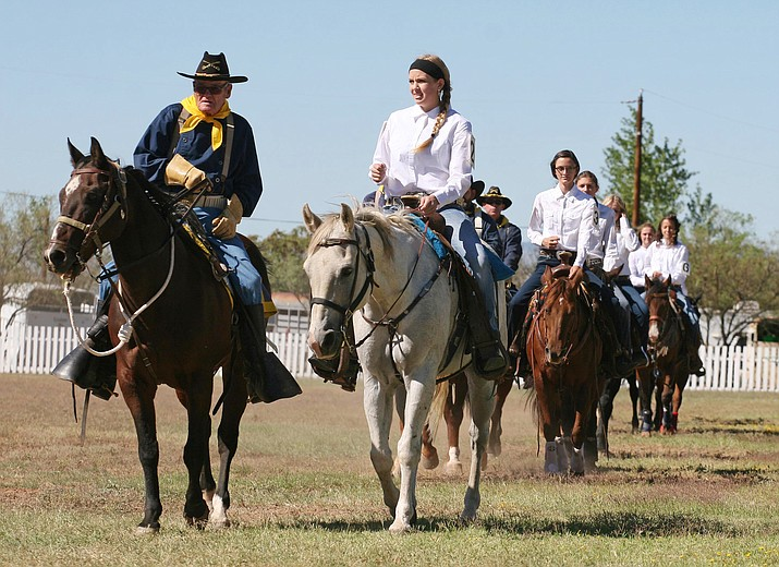 This year's Colonel's Daughter competition will be held at 1:30 p.m. Sept. 24 at the Fort Verde Parade Grounds. (Photo by Bill Helm)