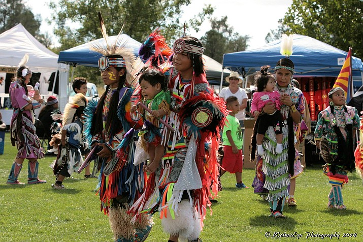 The 11th annual Prescott powwow is this weekend, Friday through Sunday, Sept. 22-24, at Watson Lake Park. (Manuel Lucero/courtesy)