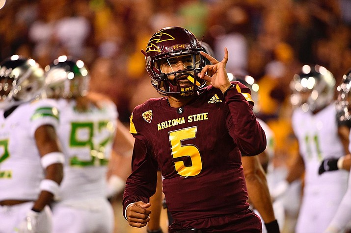 The Sun Devils pulled off a major upset over Oregon Saturday night.