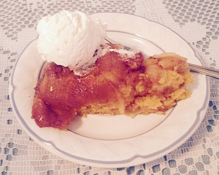 Pumpkin-Apple Upside-down Cake