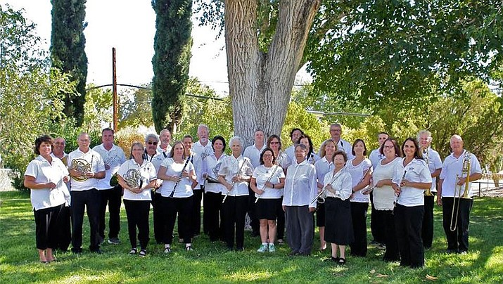 "The Kingman Concert Band, with conductor Julie Gragg, far left, kicks off its 2017-18 concert series with ""Hands across the Sea"" at 7 p.m. Saturday at Journey Church."