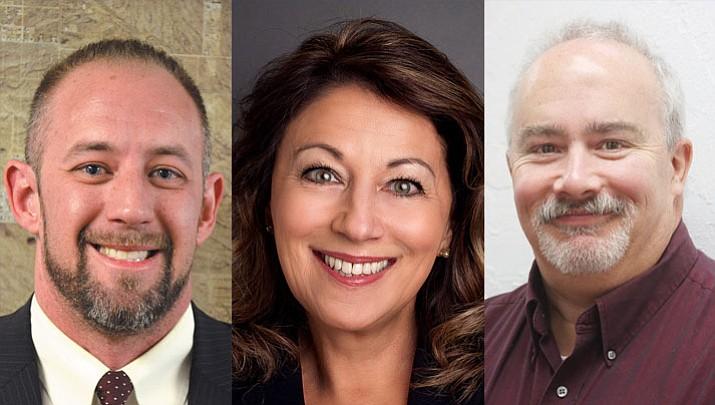 Travis Lingenfelter, Monica Gates, John Dougherty