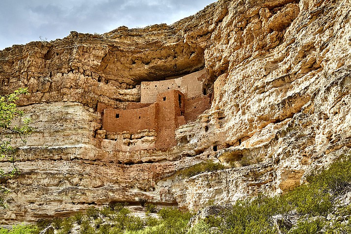 Montezuma Castle in Camp Verde, Arizona is considered one of the best preserved cliff dwellings in North America. This 20 room high-rise apartment, nestled into a towering limestone cliff, tells a story of ingenuity, survival and ultimately, prosperity in an unforgiving desert landscape. The structure was built and used by the Sinagua people between approximately 1100 and 1425 A.D.