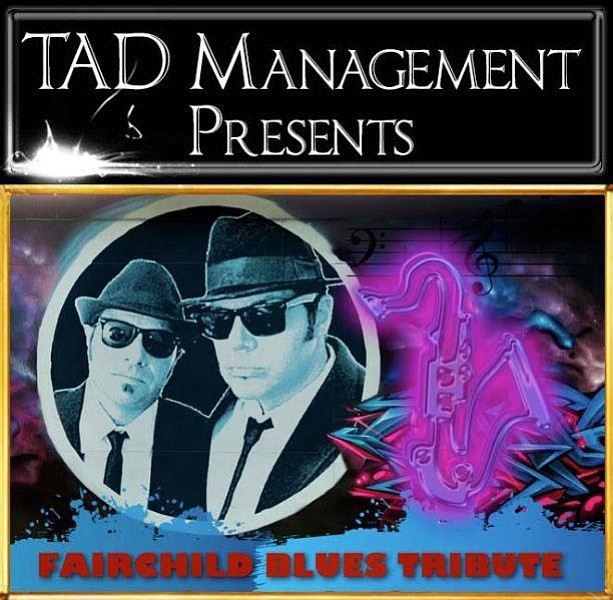 The Fairchild Blues Tribute to the Blues Brothers starts at 7 p.m. Saturday, Sept. 30, at he Elks Theatre and Performing Arts Center, 117 E. Gurley St. (Courtesy)