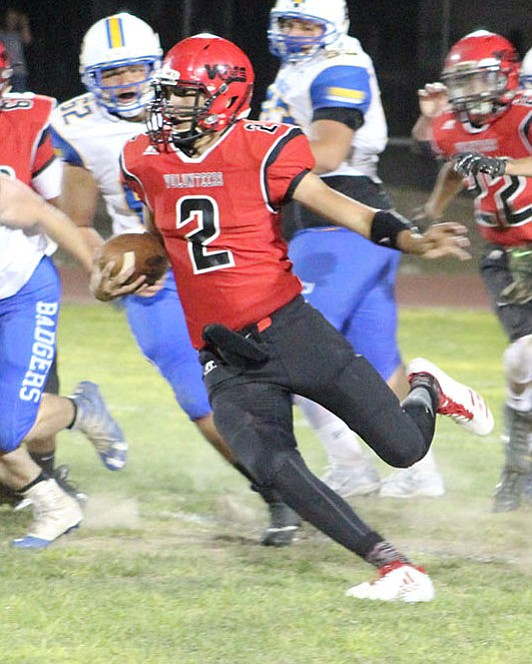 Lee Williams quarterback AJ Herrera has racked up five touchdowns this season, highlighted by four through the air.