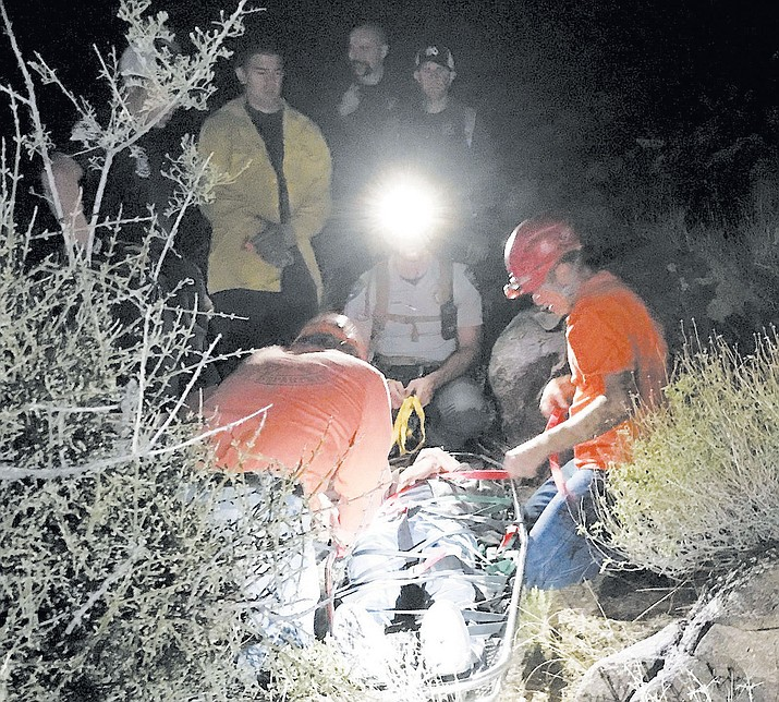 Mohave County Sheriff's Office Search and Rescue were called in to Bull Mountain and Lake Havasu City.