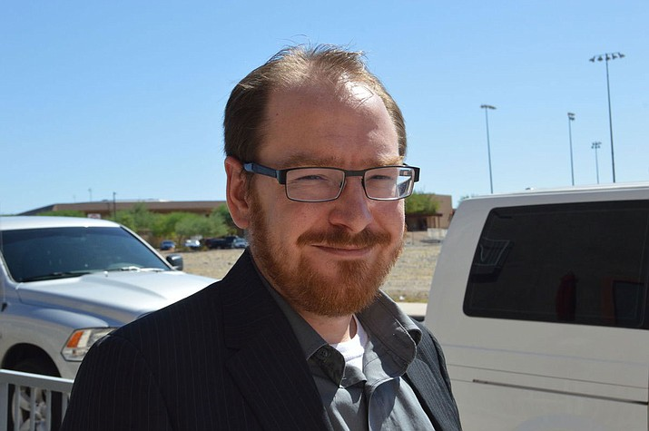 Josh Fishlock, ASU Lake Havasu campus communications instructor, studies violence in videogames.