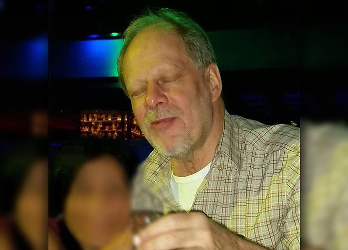 Stephen Paddock (Photo released by Las Vegas police)