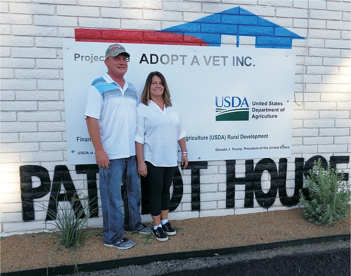 Gary and Jenise Rideout's new transitional housing development, the Patriot House, which is built, owned and operated by their nonprofit entity, Adopt a Vet, Inc., is now open. (Courtesy Photo)