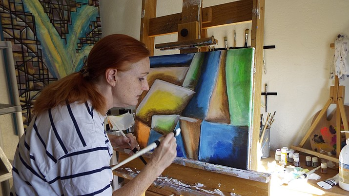 This year marks the second year that Prescott Valley artist Annessa Morrison has participated in the Prescott Area Artists' Studio Tour. Last year's tour was also her first show ever. (Courtesy)