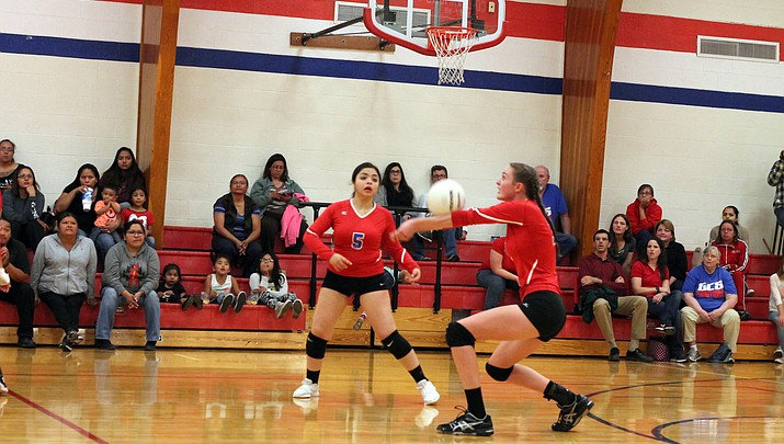 Photo highlights: Phantoms volleyball takes on Williams Vikings
