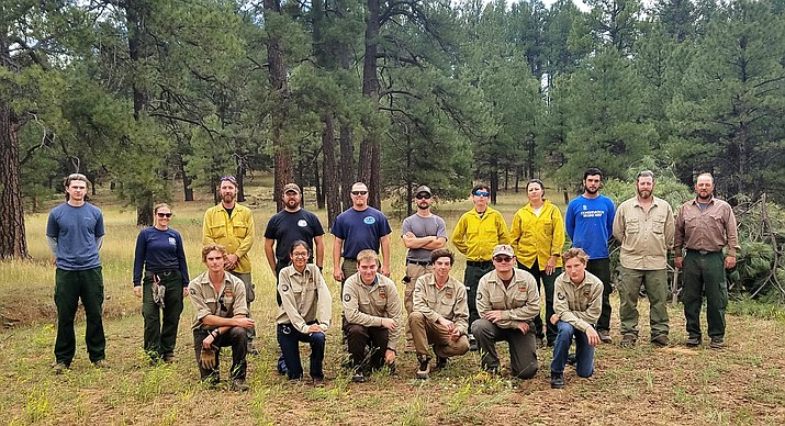 Kaibab National Forest hosted two Youth Conservation Crews this summer, one stationed in Williams and the other in Fredonia.