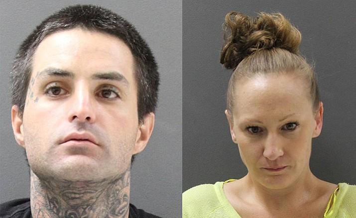 Joshua Allen Taylor, left, and Cherie Nicole Bier