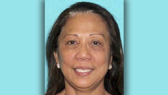 Las Vegas gunman Stephen Paddock's girlfriend, Marilou Danley, 62, who was in the Philippines at the time of the Sunday night shooting, was met by FBI agents at the Los Angeles airport late Tuesday. (Las Vegas Metropolitan Police Department)
