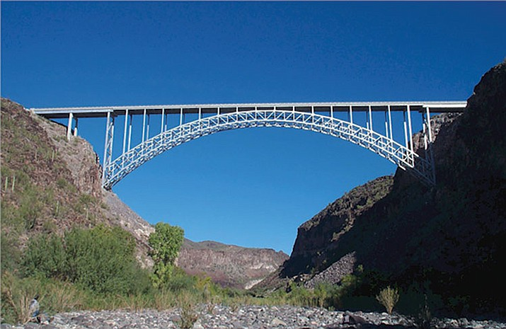 Roadwork will be done on the bridge over Burro Creek overnight.