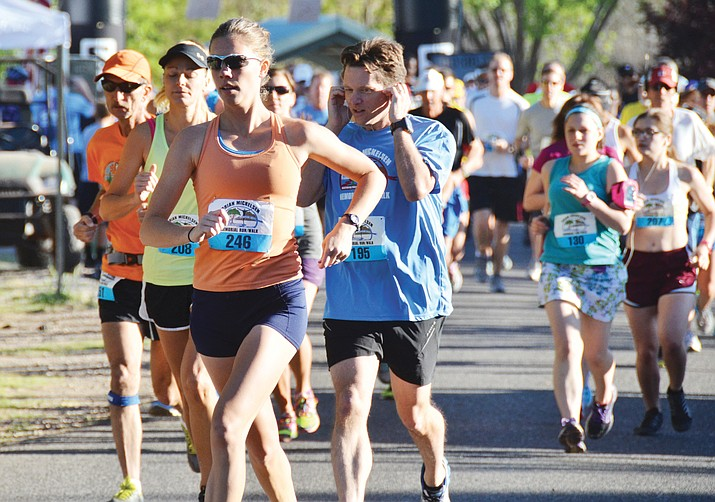 The online running publication runnersgoal.com recently rated the most popular half-marathon (13.1 miles) events in the state based on runner feedback and Cottonwood's annual Brian Mickelsen Memorial Half Marathon made the short list. VVN photo