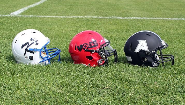 The Kingman, Lee Williams and Kingman Academy football teams all play away games tonight.