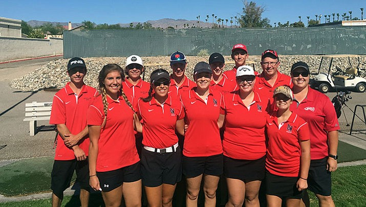 The Lee Williams girls and boys golf teams continued their season Tuesday at the Lake Havasu Golf Club. The Lady Vols took second with a 61-over-par 201, while the Vols took first with a 43-over-par 187.