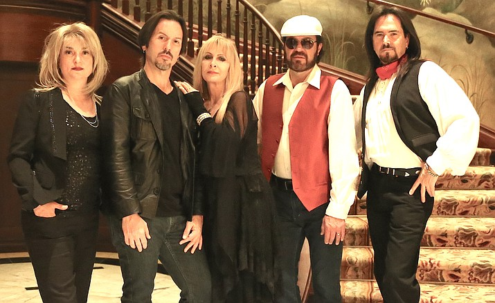 Mirage -- Visions of Fleetwood Mac performs at 7 p.m. Saturday, Oct. 7, at the Elks Theatre in downtown Prescott. (Courtesy)