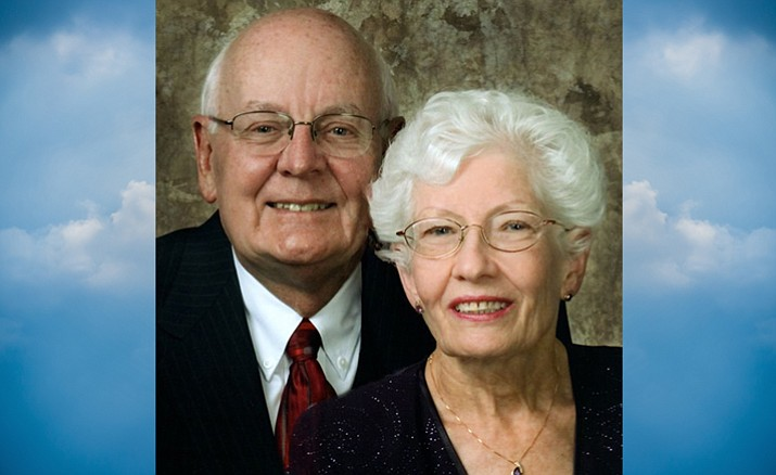 James Sperger (left) is survived by his wife, Dottie Fulton Sperger.