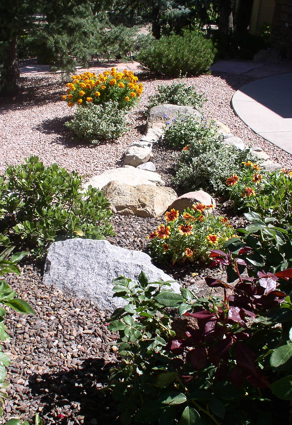 Scene from the Halls' garden. (Alta Vista Garden Club/Courtesy)