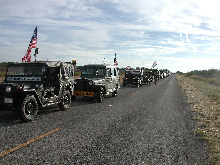 The 2012 ALCAN Highway convoy.