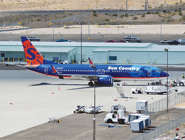 The Laughlin-Bullhead International Airport in this 2008 file photo.