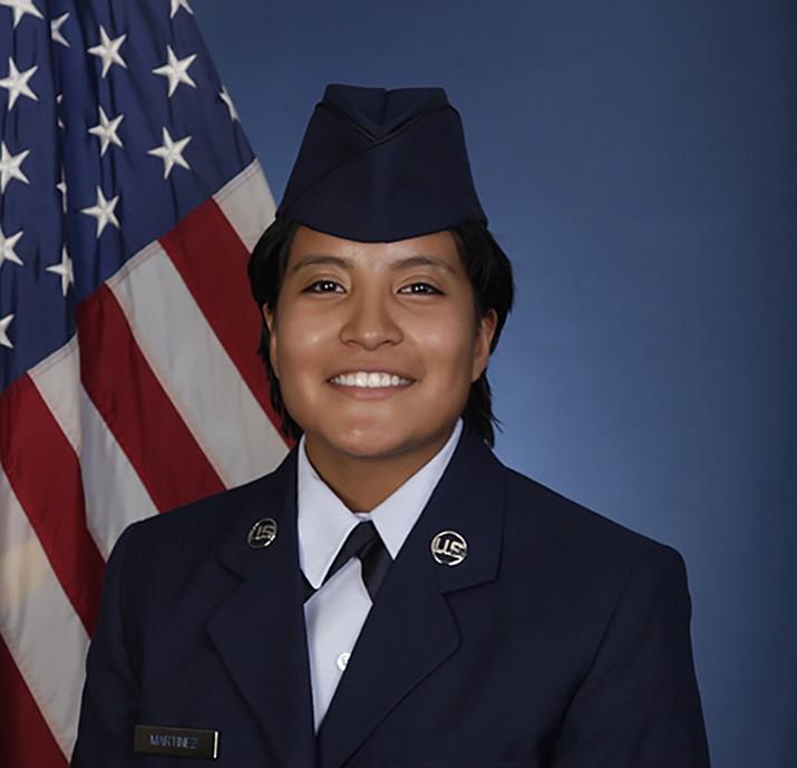 U.S. Air Force Airman Lizeth Martinez