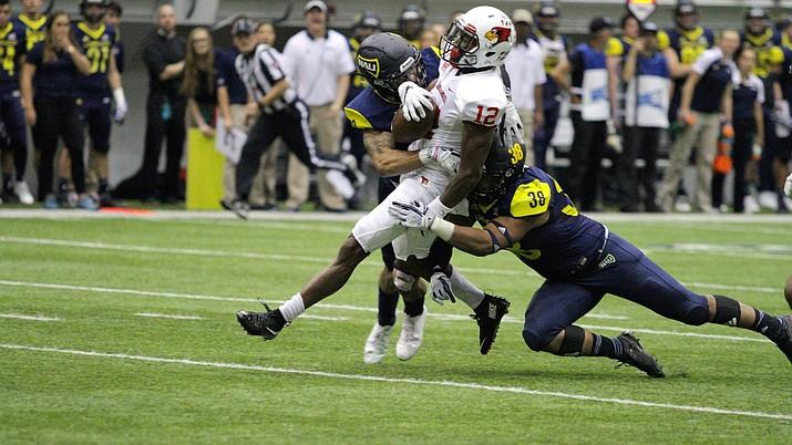 Northern Arizona's defense was stout against No. 7 Illinois State.