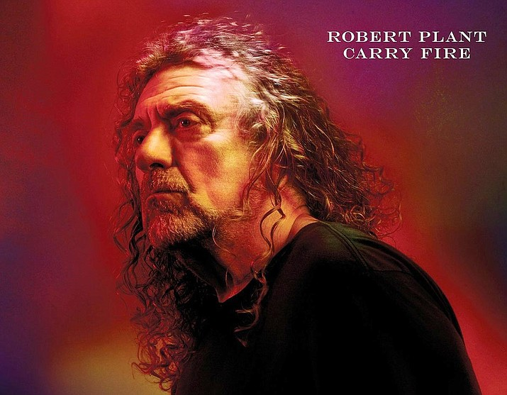 Robert Plant's eleventh studio album, Carry Fire, produced by Plant in the west of England and Wales, melds unusual rhythms with naturalism.
