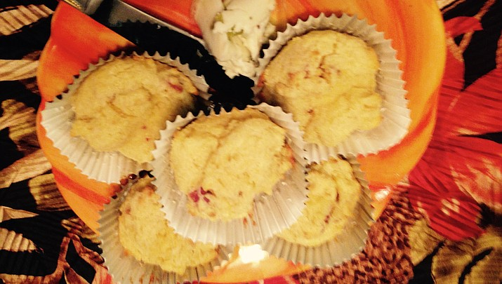Cooking with Diane: Herb Cheese-Bacon Corn Muffins