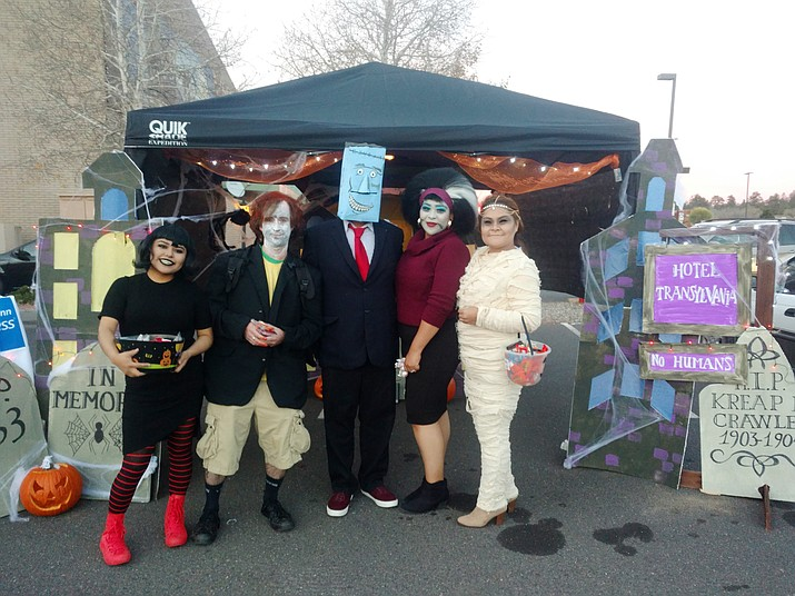 """Hotel Transylvania"" won the 2016 trunk contest."