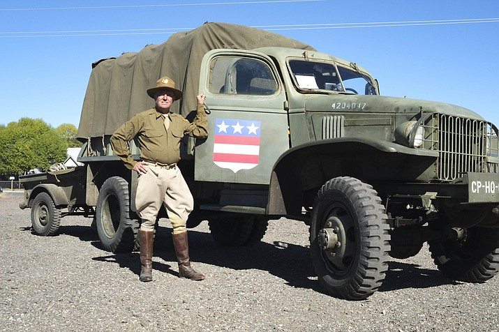 The Arizona Military Convoy arrived in Williams Oct. 6.