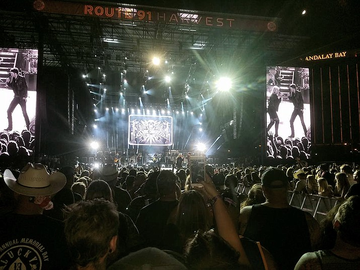 Over 22,000 people attended the Route 91 Harvest country music festival in Las Vegas Oct. 1 where northern Arizona native Brett Schwanbeck was killed in the country's deadliest mass shooting.